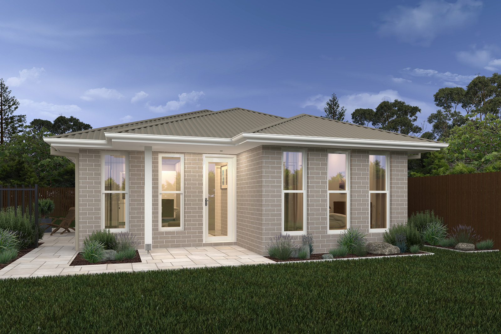 Granny flat 1 sloane homes for Home designs granny flat