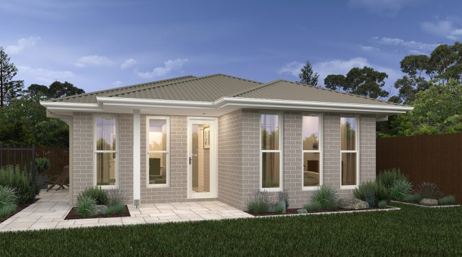 Granny Flat 1 custom home design by Sloane Homes, Home Builders Newcastle