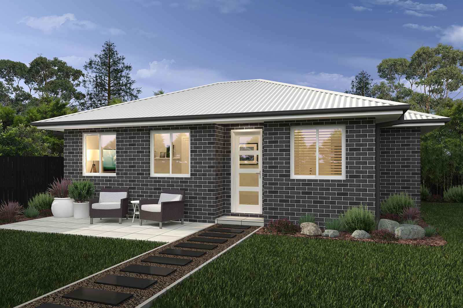 Granny flat 4 sloane homes for Home designs granny flat