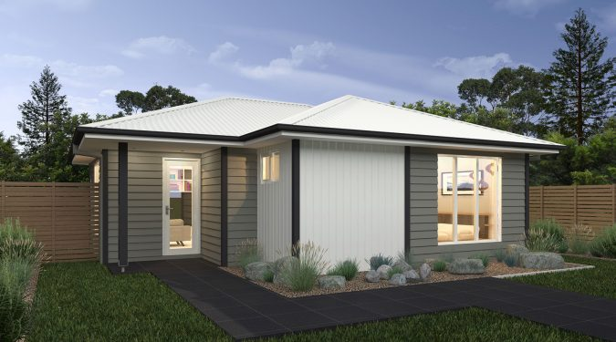 Granny Flat 6 custom home design by Sloane Homes, Home Builders Newcastle