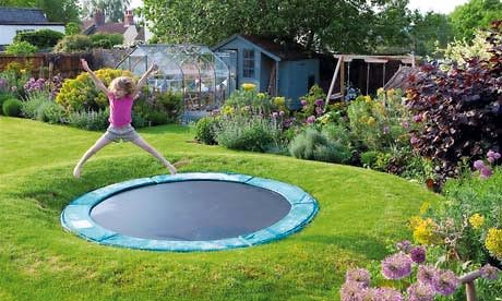 Stylish Kids Spaces - Sunken Trampoline