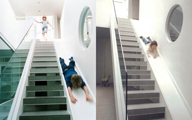 Stylish Kids Spaces - Indoor Slide
